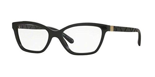 Burberry Women's BE2221 Eyeglasses Black - Burberry Frames Eyeglass Men's
