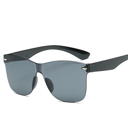 Dormery Sunglasses Women Vintage Colorful Retro Fashion Rimless Sun Glasses Women's Brand Eyewear Gray