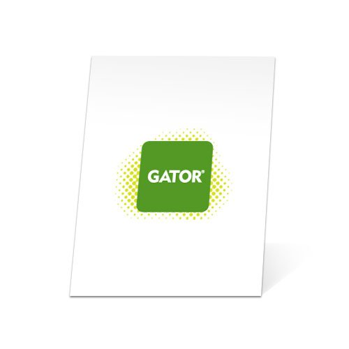 White 24 x 36 in. Gator Board by Lamination Depot