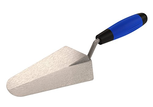 Bon 81-100 7-Inch by 3-3/8-Inch Pro Plus Gauging Trowel with Comfort Grip Handle