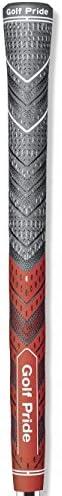 Golf grip MCC Plus4 New standard rojo gris, Golf Pride