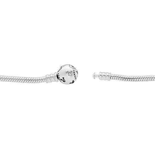 Pandora Disney Moments Mickey Silver Bracelet 590731CZ19 by PANDORA (Image #1)