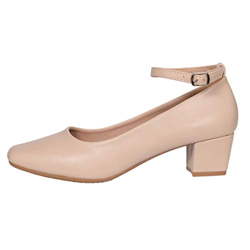 5563683bb01 ... Heels Dress Shoes for Women- Comfortable Ankle Strap Pumps Square Toe Ladies  Mary Jane. Asin  B07MJWKHW5. Best Womens Pumps