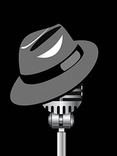 1art1 Posters: Music Poster Art Print - Fedora Hat and Microphone (32 x 24 inches)