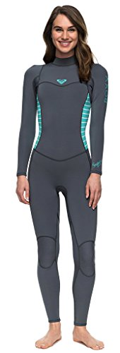cec3f85ee1 Roxy Womens 3 2Mm Syncro Series - Back Zip Wetsuit - Women - 14 - Blue  Ash Pistaccio 14