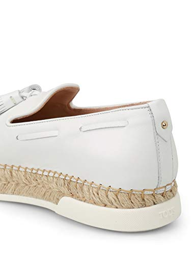 Tod's On Sneakers Pelle Xxw96a0y451jusb001 Donna Bianco Slip rwTqar