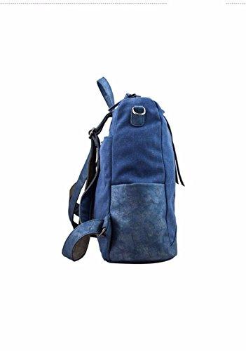 à pour Femme BMKWSG au Dos bleu Bleu Main porté Sac Bleu Cwx15n1Sp