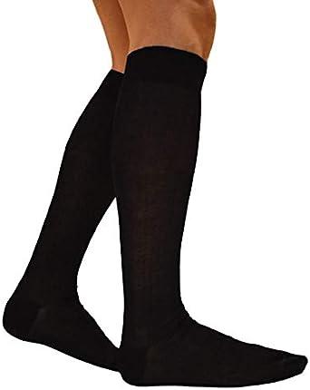 RV97 Calcetines de hombre largos de hilo de Escocia (7 pares: 6 + 1 fantasía) calcetines fabricados en Italia 100% algodón fresco resistentes elegantes tejidos bajo la rodilla: Amazon.es: Ropa y accesorios