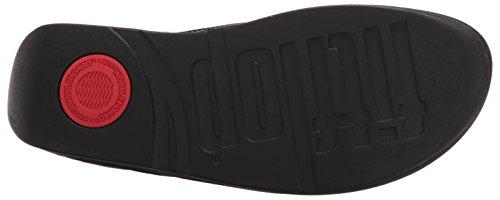 Fitflop Femmes Florrie Toe-string Sandale Noir Brevet