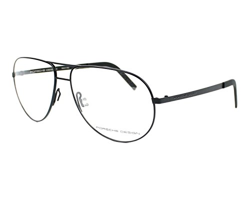 Porsche Design P8280 A Aviator Eyeglasses Frame, Black, ()