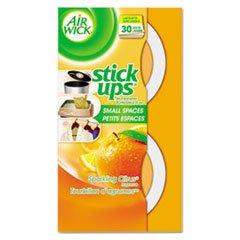 RECKITT BENCKISER Stick Ups Air Freshener, 2.1oz, Sparkling Citrus, 12/Carton by Reckitt Benckiser
