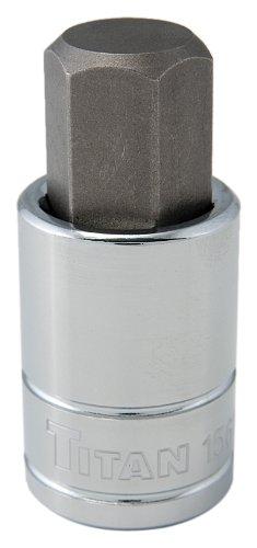 17 Mm Hex Socket (Titan Tools 15617 17 mm 1/2
