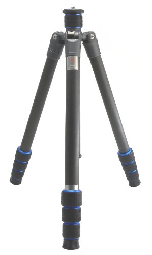Nest NT-6324C Traveller Tripod Legs 4 Section 70'' Height Carbon Fiber Fibre 1/4 turn Quick Leg Locks by Nest