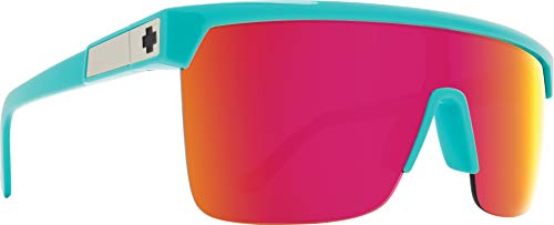 Flynn 5050 Teal - HD Plus Gray Green with Pink Spectra Mirror (Pink Spy Sunglasses)