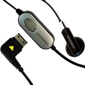 Samsung R500 Series OEM Original Mono Earbud Headset - AAEP305SBEBSTD by Unknown (Oem Mono Earbud)