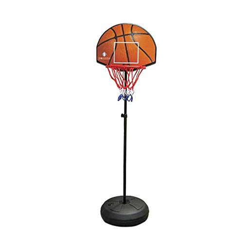 Portable Mini Basketball Hoop System Stand, Adjustable Toy Set for Toddler Kids, Indoor Outdoor Dual-use Backboard Net Goal by Basketball Stand (Image #6)