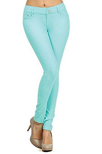 Yelete Womens Pocket Stretch Jegging