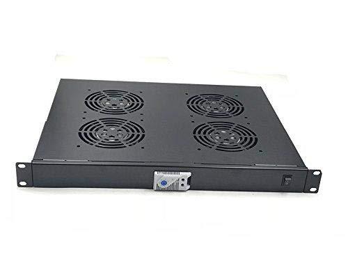 (税込) B07B4283HKライジングラックマウント温度制御サーバーファン冷却システム 4ファン1U B07B4283HK, ミッドナイン:2bc6b4b7 --- arbimovel.dominiotemporario.com
