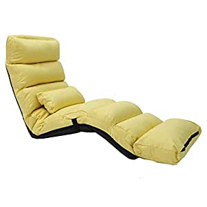 Amazon.com: LBYMYB Lazy Couch Chair Single Tatami Foldable ...