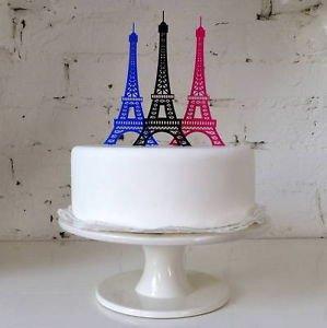 Amazing Topperama Eiffel Tower Cake Topper Wedding Party Engagement Paris Funny Birthday Cards Online Aeocydamsfinfo
