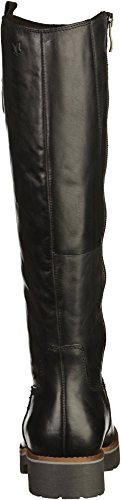 Caprice Footwear - Leni Long Leather Boot, Black Black