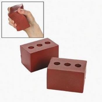 ALPI Brick Stress Toy