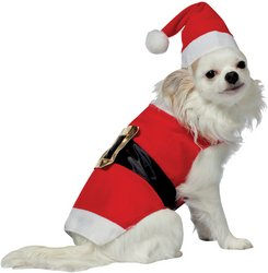 Wmu Santa Pet Costume - Small