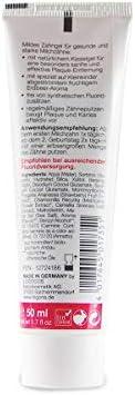 LOGODENT Kinder Zahngel Erdbeere (3x50 ml), natürliche Wirkstoffkombination aus Erdbeer-Aroma und Bio-Kamille, Bio Zahnpasta, Vegan, Fluoridfrei, Naturkosmetik