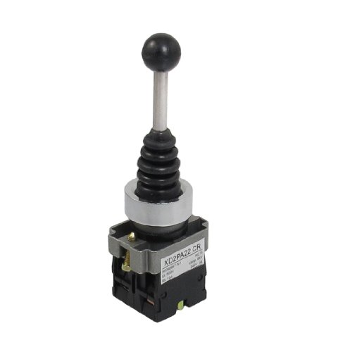 SPST 2 N.O NO 2 Position Momentary Type Monolever Joystick Switch