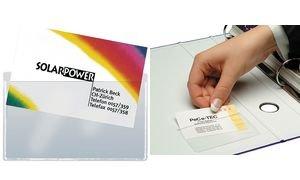 Sigel Taschen Für Visitenkarten Pp Aufkleber Amazon De