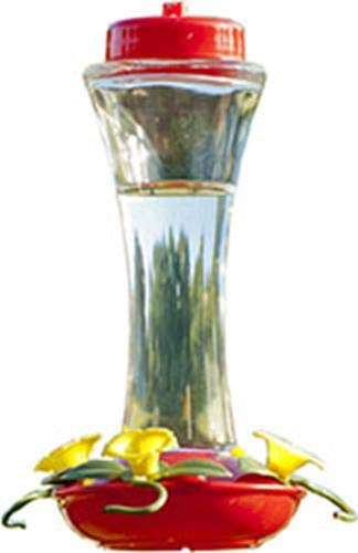 Audubon NA35231 Glass Hummingbird Feeder, 16-Ounce