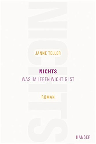 Nichts Janne Teller Film
