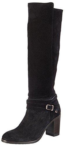 black La Mit Bretoniere Stiefel Stivali 0001 De Donna Blockabsatz Fred Nero Langschaft qO7xv5S