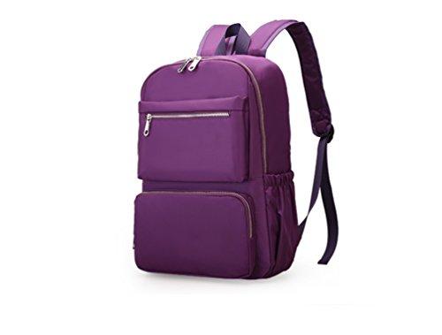 AOTIAN 4028 - Bolso mochila  para mujer morado B-PURPLE B-PURPLE