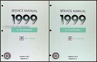 1999 buick park avenue repair shop manual original 2 volume set rh amazon com 2014 Buick Park Ave buick park avenue repair manual free pdf