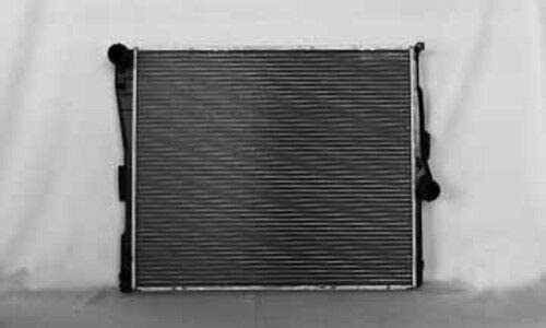 TYC 2771 Compatible with BMW X3 1-Row Plastic Aluminum Replacement Radiator
