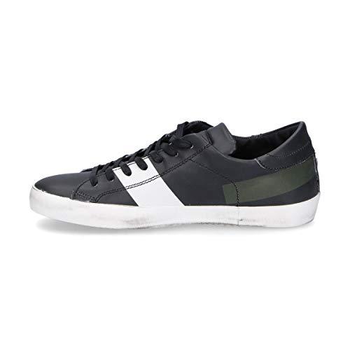 Clluiv03 Philippe Uomo Nero Sneakers Pelle Model SrSZxz