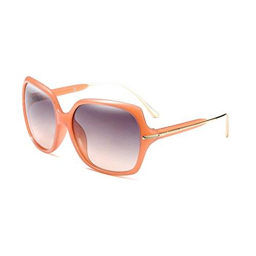 Moda Mujer Sol Gafas Populares E B de de Tonos Burenqi Sol Bastidor Diseñador Marca Gafas UV400 metálico de de xRXAW7Y