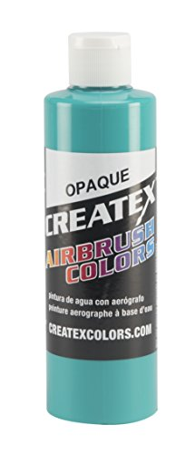 for Airbrush, 8 oz, Opaque Aqua ()