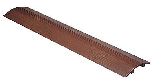 Cable Ramp - BWR Series; Overall (W x H): 7-1/8'' x 1-1/8''; Length: 36''; Usable Span (W x H): 2-5/8'' x 3/4''; Single Wheel Capacity (LBS): 10,000; Finish: Brown
