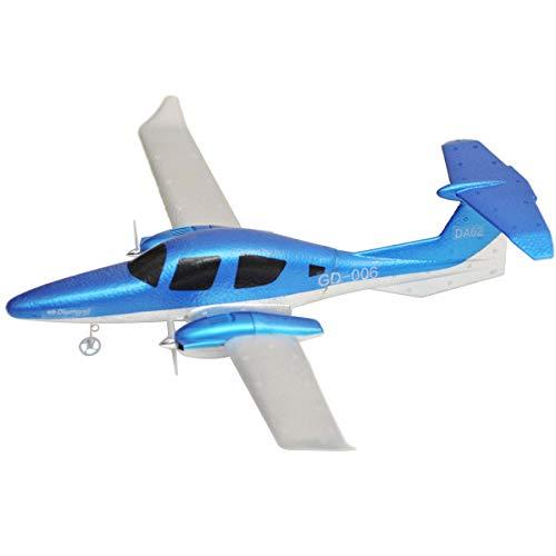 Windwinevine RC Drone DIY EPP Caucho 2.4 GHz RC Avión ala Fija Aviones de Control Remoto GD006 Control Remoto Glider con Luz...