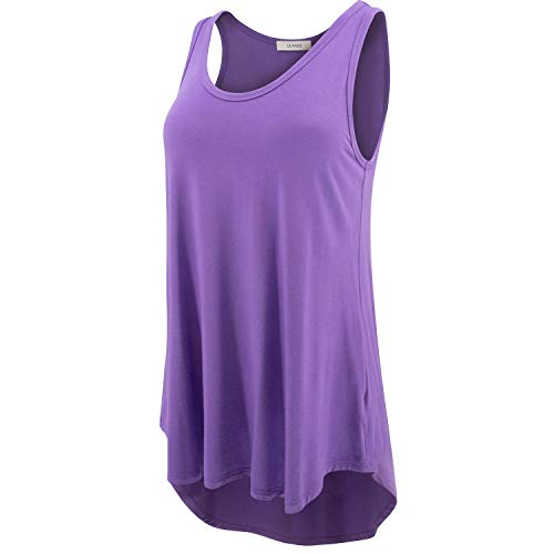 (LUVAGE Women's High Low Tank Tops Shirts)