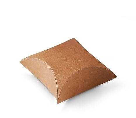 Selfpackaging Caja Regalo joyería o Tiendas. Muy económica y Original. Color Kraft. Pack de 50 Unidades - S: Amazon.es: Hogar