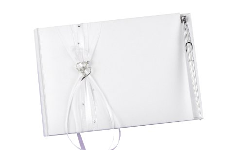 Hortense B. Hewitt Wedding Accessories Heartfelt Whimsy Guest Book and Pen