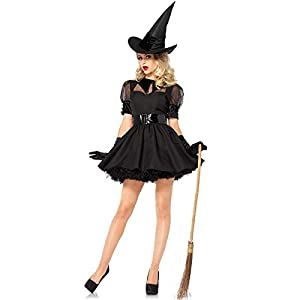 Leg Avenue Women's Classic Bewitching Witch Halloween Costume