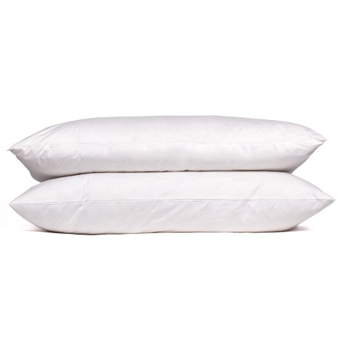 (Sweet Home Collection Goose Down and Feather 400 Thread Count Premium Bed Pillow, King)