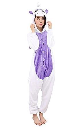 Mujer Pijama Animal Traje de Disfraz Cosplay para Carnaval Halloween Navidad Ropa de Noche Unisex para