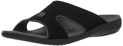 Spenco Men's Kholo Plus Slide Sandal, Carbon/Pewter, 14 Medium US by Spenco (Image #1)