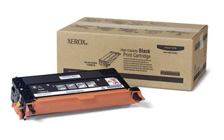 Xerox Phaser® 6180 Black Toner Cartridge, High Capacity (8,000 Yield), Part Number 113R00726, Office Central
