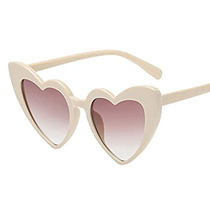 58efd0ea19 Image Unavailable. Image not available for. Color  Gold Happy Love Heart  Sunglasses Women Brand cat Eye Vintage Black Pink red Heart Shape Sun